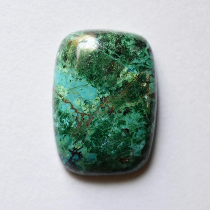 38.65Cts Chrysocolla Cabochon NC0170 Natural Chrysocolla Gemstone,Peruvian Chrysocolla Cabochon Size 27x19x7mm