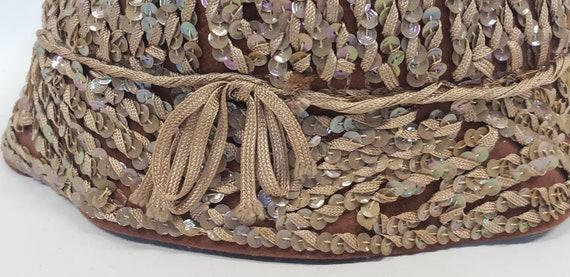 Henry Pollak Hat, Brown Bucket Hat, Sequin Bucket… - image 7