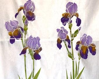 LARGE Iris Flower Stencils (1 & 2) ©