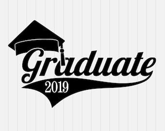 Graduation 2019, senior 2019 svg, graduation svg, high school graduation svg, class of 2019 svg, senior class svg