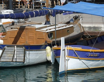 Boats at Cassis, Provence, France