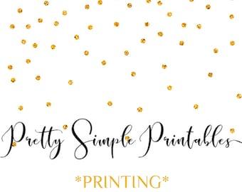 Printing Service - Invitation Printing - Poster Printing - Templett Printing - 16 x 20 Printing - Chaklboard Poster Printing + More!