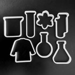 Science Lab Cookie Cutters