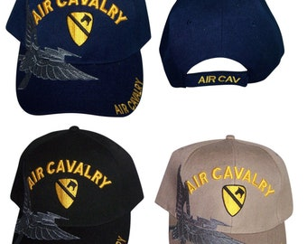 0092e9f13c9 Air Cavalry US Army Military Baseball Caps Embroidered Military Caps  Military Gods - Gifts (7506A35)