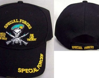 e7d5500e8a5 US Special Forces Military Baseball Caps Hats Embroidered - Military Goods  - Gifts (7506SF2)