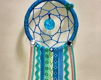 Sky blue dream catcher