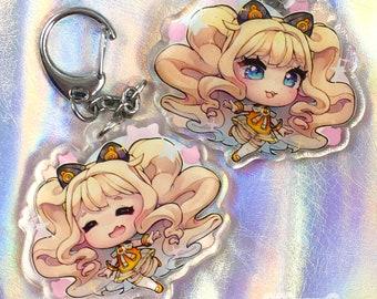 Vocaloid - SeeU 2 inch Double-sided Charm w/ Glitter Epoxy