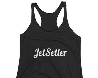 JetSetter Women's Racerback Tank Top by JetSetter Apparel