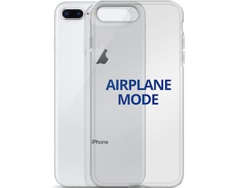 Airplane Mode iPhone Case by JetSetter Apparel