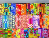 Metallic Cotton Fat Quarters, 5 Fat Quarter Fabrics, Colorful Bundle Mask Patchwork Clothing Craft Quilting Farmhouse Bohemian Minimalist