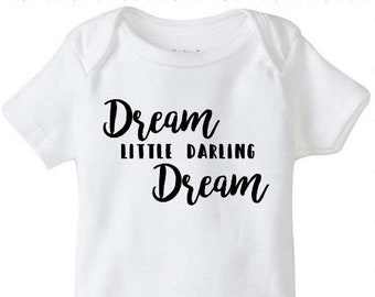 Dream little darling bodysuit, dmb bodysuit, Dave Mathews Band, lyrics, creeper, bodysuit, dmb baby, firedancer, Dave Matthews, inspired