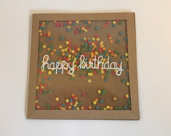 Birthday Card (with envelope)