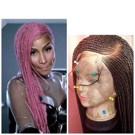 Nicki Minaj Lemonade Braids Wig Nicki Minaj Lace Front