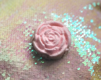 Rose, Milk&Honey Bath Bomb Fizzy