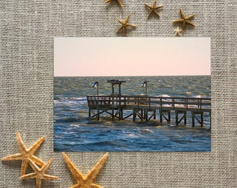 Pier at Sunrise Note Cards (set of 8)