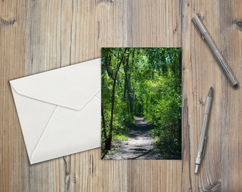 Path in the Trees Note Cards (set of 8)