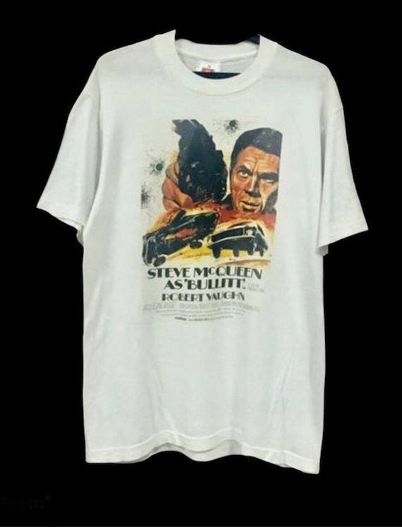 Rare! Vintage 90's BULLITT Movie/Steve McQueen 60'