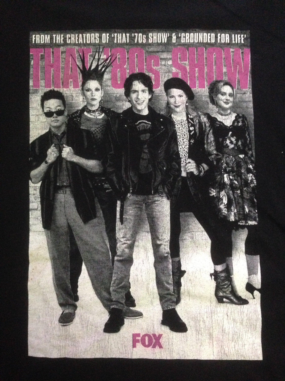 Vintage 90's That 80s Show American Sitcom, Drama tv Serries show Fox  Channel