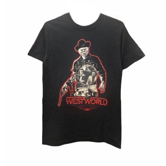 Vintage 90's WESTWORLD Movie 70's Movie Sci-Fi/Thr
