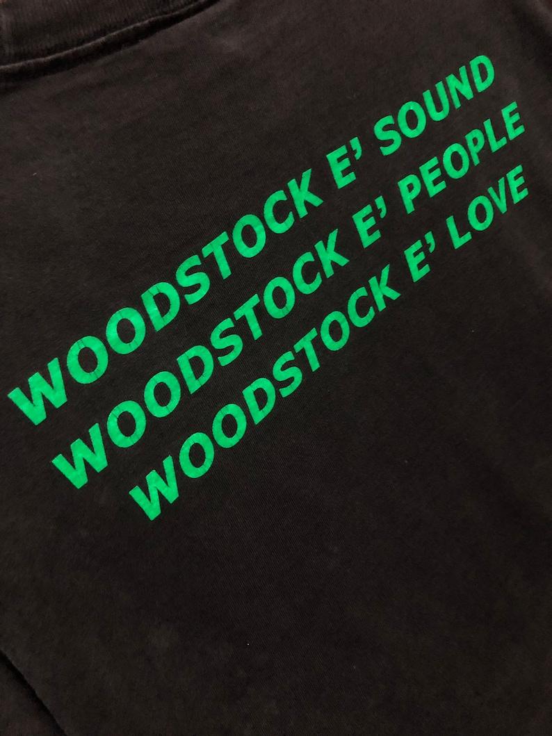 Vintage 80\u2019s The Woodstock Festival Colorful Graphic PrintedVintage HippiesVintageTie DyeVintage Rock Band