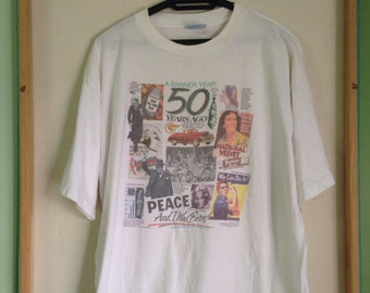 Vintage 1994 History Of Advertising Classic A Banner Year 50 Years Ago/PopArt/Cocacola/Artist/Artwork/Painting/AndyWarhol/Keith Haring