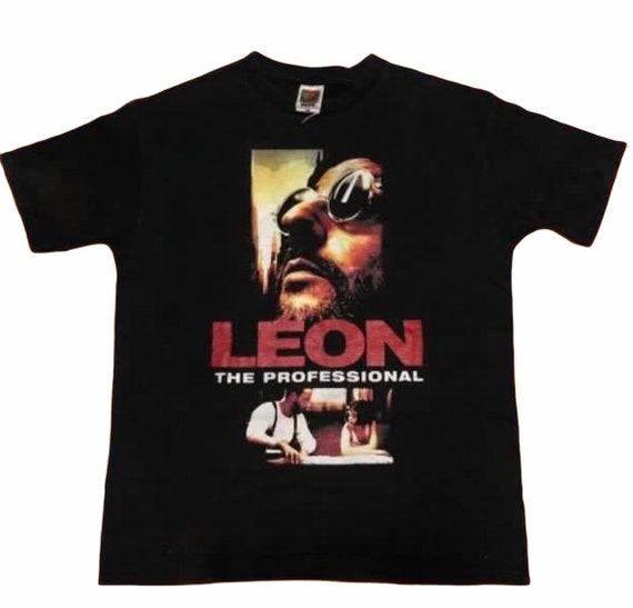 Superare! Vintage Leon The Profesional Movie Tshir