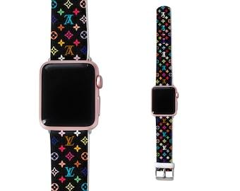 Iwatch Band Louis Vuitton Band Iwatch Band Fashion Iwatch Band 38mm apple watch strap Apple Watch Band 42mm LV Apple watch band apple band