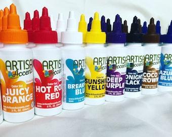 Artisan Accents Gel Colors 11pc set