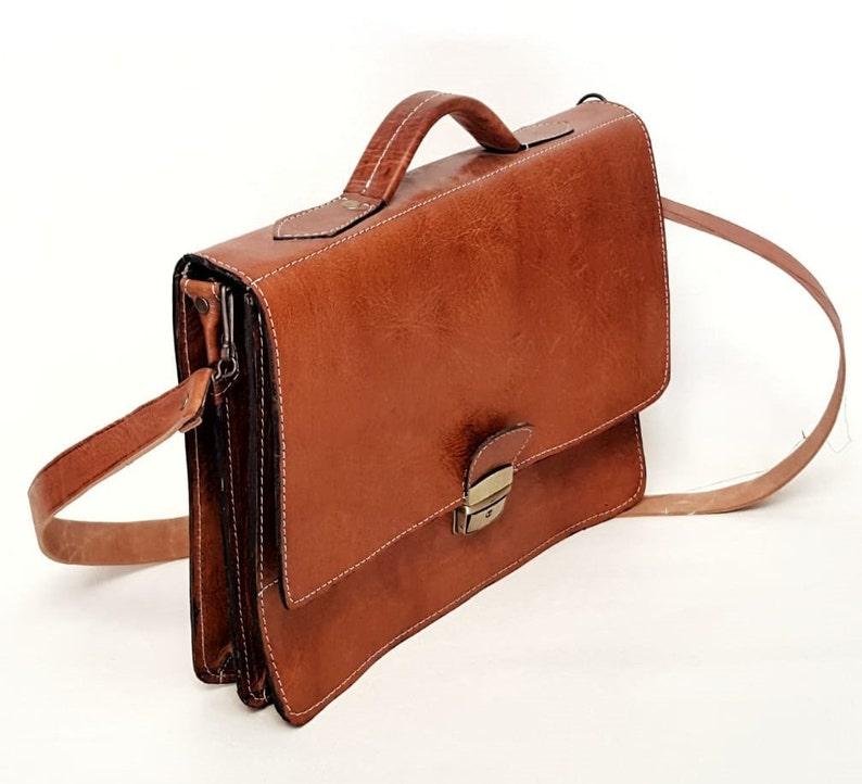 30/% OFF Handmade Genuine leather messenger bag,Moroccan Leather Bag,laptop bag,shoulder bag,office bag,work briefcase Large Satchel