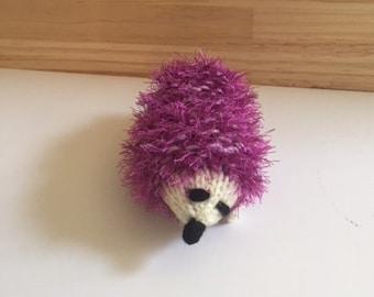 Purple Handmade Hedgehog