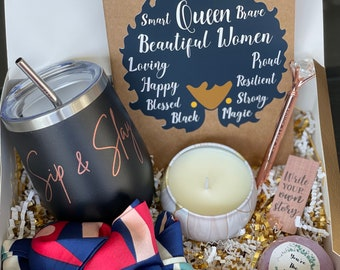 Gift Box for special occasions- Thinking of You, Black Girl Magic, Mother's Day, Birthday, Graduation, Friendship gifts
