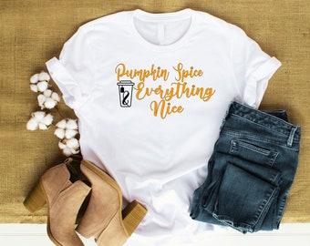 Pumpkin Spice & Everything Nice T-shirt
