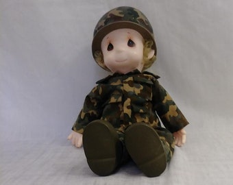 Dolls & Bears By Brand, Company, Character Collection Here Vintage Precious Moments Doll Soldier Russian