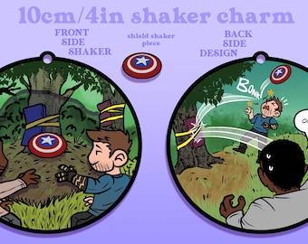 Sam & Bucky Shaker Charm [PRE-ORDER ROUND 2]