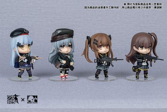 Girls' Frontline 404 Team Hk416 Ump45 Ump9 G11 Figure Nendoroid by Etsy