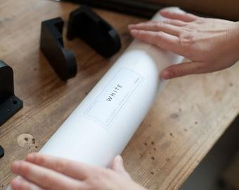 White or Brown Kraft Paper Roll, Refill Paper Roller / Mini Roller