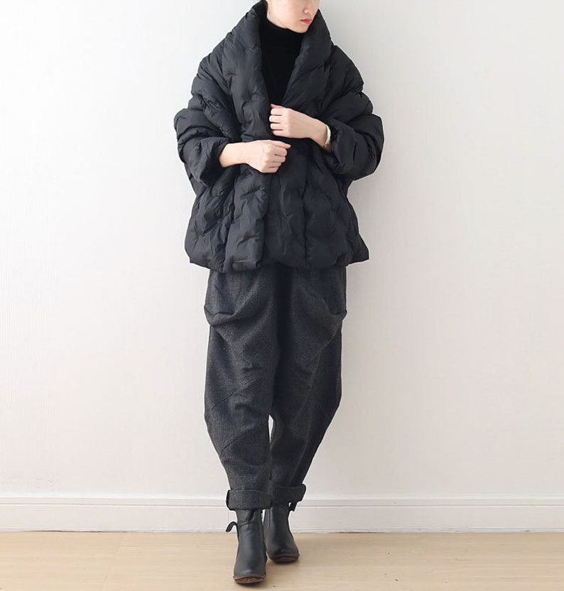 Casual Down Coat Casual Jackets,Coats For Women,Jackets For Women Womens Winter Loose Fitting Short Down Cotton Coats Jackets With Pockets