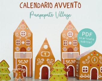 Calendario Avvento Villaggio Panpepato - download istantaneo