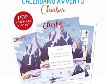 Calendario Avvento - Climbers - Download digitale immediato