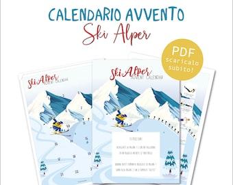 Calendario Avvento - Skialper - Download digitale immediato