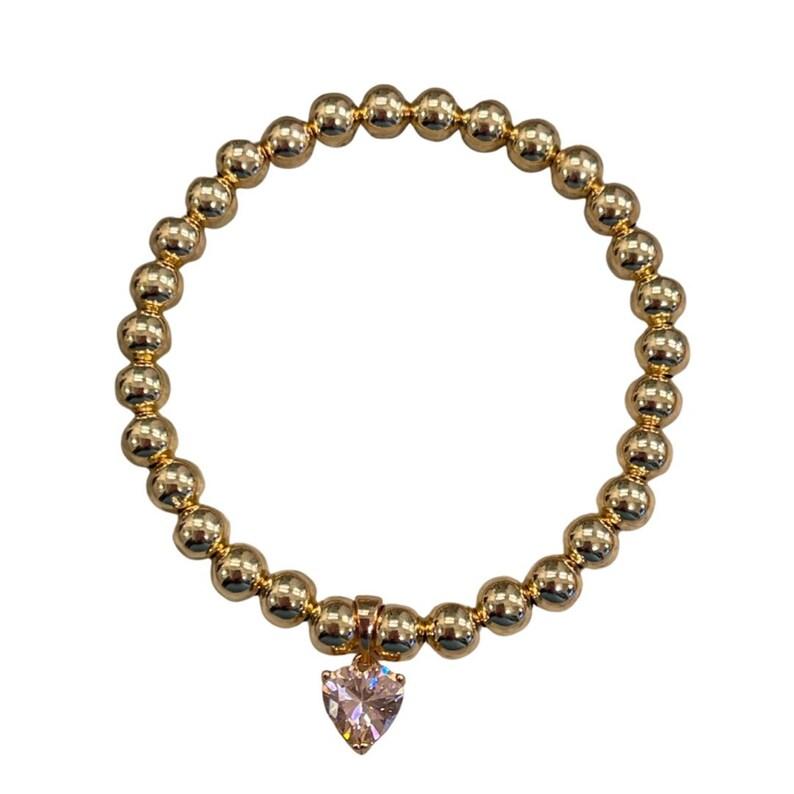 Emerald 14k Gold Filled Bracelet