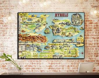 😝 Legend of zelda nes map pdf | The legend of zelda map ...