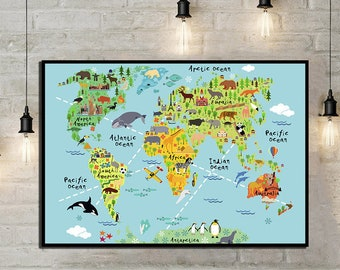 Literature Map Of The World.Literature Map World Literature Map Literary Poster Literature Etsy