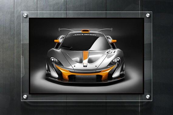 Mclaren P1 Super Race Car Poster