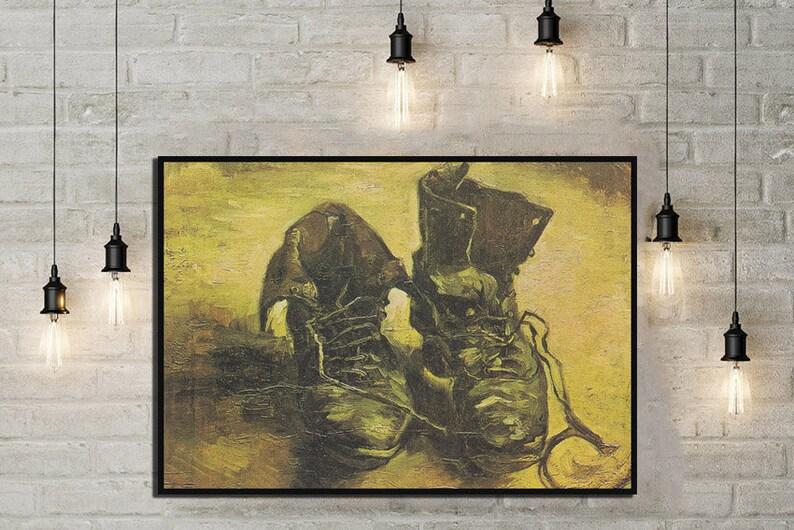 Chaussures VincentEtsy Une Affiche Van Gogh De Paire rxBdCeo