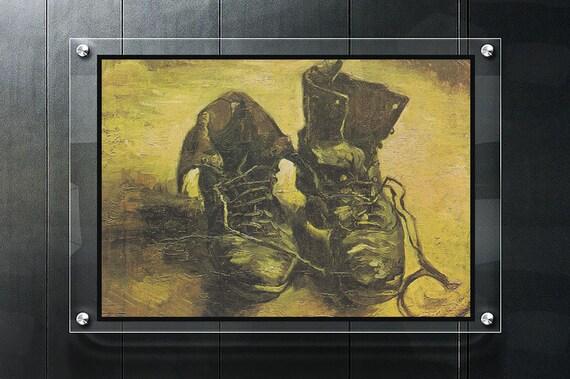 Van Gogh poster un paio di scarpe Vincent van Gogh Van Gogh stampa Van Gogh dipinti famosi dipinti ad olio migliore olio copia arti pop dipinti ad