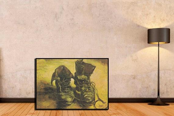 Senza cornice Tela Prints Un Paio Di Scarpe Vincent Van Gogh