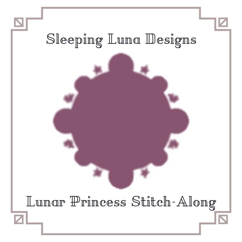 Lunar Princess Stitch-Along SAL Cross Stitch Pattern  image 0