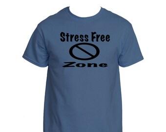 Men's Stress Free Zone T-shirt