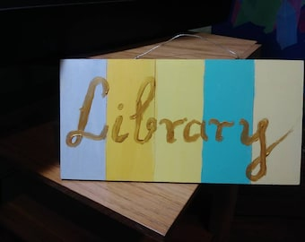 """Library 10"""" x 5"""""""